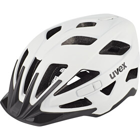 UVEX Active CC Fietshelm, white/black matt